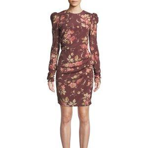 Zimmermann Unbridled Draped Mini Dress NWT
